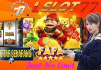 Just No Limit Slot Jackpot Terpercaya